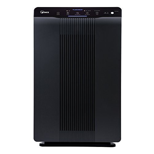 Winix 5500-2 Air Purifier with True HEPA, Plasma Wave and Odor Reducing Washable Carbon Filter, Charcoal Gray