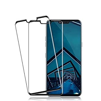 BIGFACE Screen Protector for LG G8 ThinQ [2 Pack] HD Clarity Full Coverage Premium Tempered Glass Anti-Bubble Case Friendly Anti - Scratch 3D Touch Accuracy Film for LG G8 ThinQ