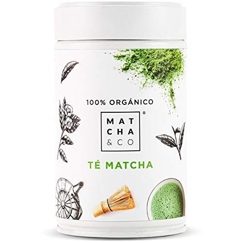 Matcha 100% Ecologico | Te verde en polvo Organico de Japon | Te Matcha de grado ceremonial BIO | Matcha & CO (80 g)
