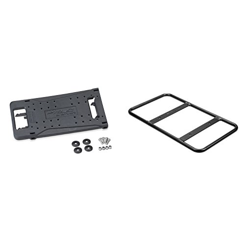 XLC Carry More Packtaschenbügel & Adapterplatte, schwarz, 2-teilig (1 Set)