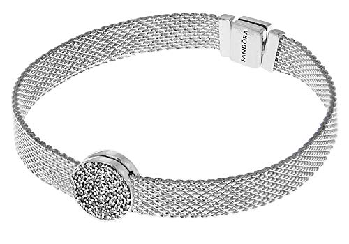 Pandora Reflexions Damen-Armband mit Clip Charm Eleganz 75339-18 18 cm