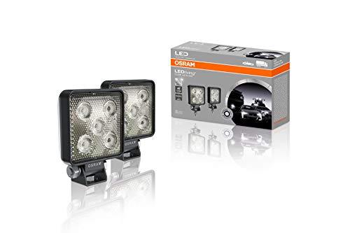 LEDriving CUBE VX70-WD, OFF ROAD LED Zusatzscheinwerfer für Nahfeldbeleuchtung, Wide, 550 Lumen, Lichtstrahl bis zu 43 m, rechteckige Hochleistungs-LED-Spots im Duo-Pack (2 Stk)