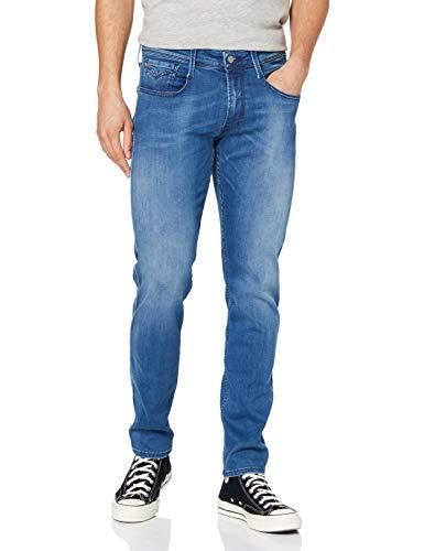 Replay Herren Anbass Jeans, Light Blue, 3336