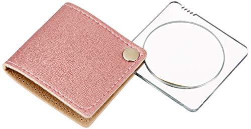 ミザールテック ルーペ ポケットルーペ 倍率 3倍 携帯用 日本製 ピンク RX-30PWH