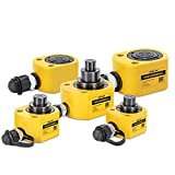 CGOLDENWALL Cilindro Idraulico Tripla Sezione Ultrasottile (10T)