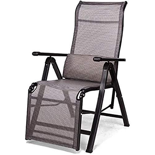 Liggende ligstoel opvouwbaar, fauteuil buiten opvouwbaar, Zero Gravity fauteuil, draagbare fauteuils, tuinstoelen voor op kantoor, kamperen, terras, gazon