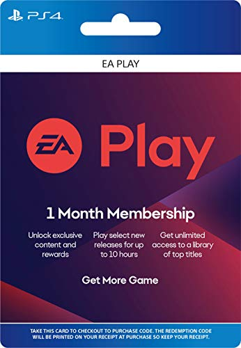 EA Play 1 Month Subscription – [PS4 Digital Code]