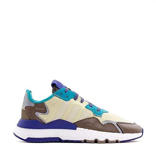 adidas Herren Nite Jogger Sneaker Braun, 43 1/3