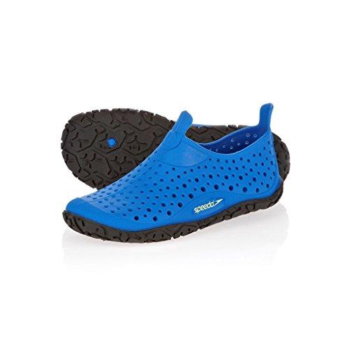 Speedo Jelly JM Blue/Black 8079838005, Unisex-Kinder Sandalen, Blau (blau/schwarz), EU 34.5
