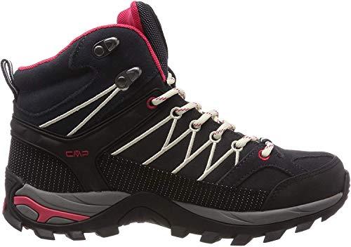 CMP Damen Rigel Mid Wmn Shoe Wp Trekking- & Wanderstiefel, Grau (Antracite-Off White 76uc), 38 EU