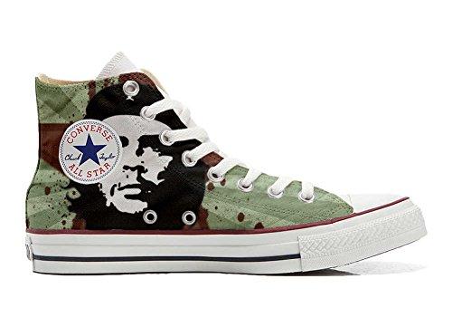 Unbekannt Sneaker Model American USA - Base Italian Style -personalisierte Schuhe - Handmade Shoes - Che Guevara - TG45