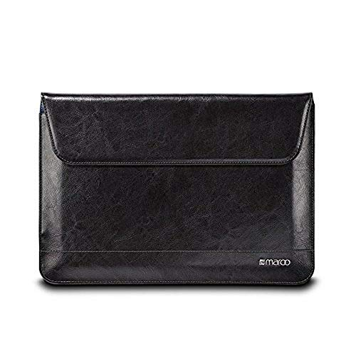 Maroo Premium leather Executive Sleeve for Surface 3 - Black