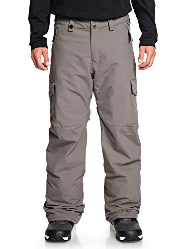 Quiksilver Mens Porter - Snow Pants for Men Snow Pants Black L