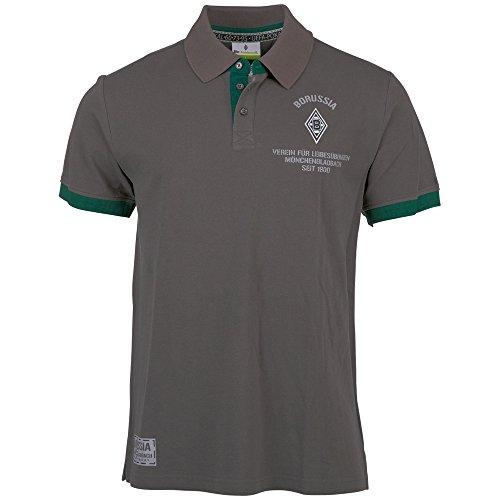 Kappa Herren BMG Unbranded Polo-Shirt s/s Poloshirt, 416 Magnet Grey, S