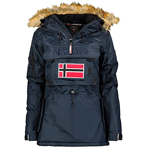 Geographical Norway BULLE Lady - Parka Impermeable Mujeres - Abrigo...