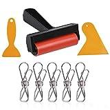 Ruesious DIY Diamant Malerei Werkzeuge Kit, 5D Diamond Painting Stickerei Kreuzstich Werkzeug Zubehör, Diamond Painting Roller