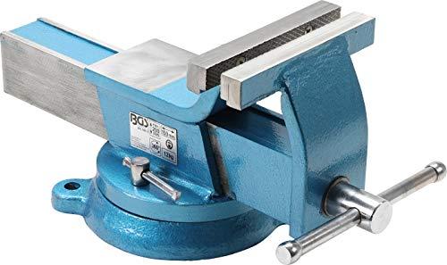 BGS 59115 | Stahl-Schraubstock | geschmiedet | 150 mm Backen
