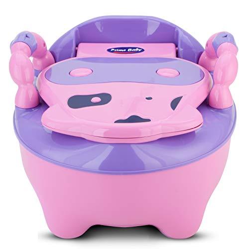 Troninho Infantil Fazenda Musical Rosa, Prime Baby, Rosa