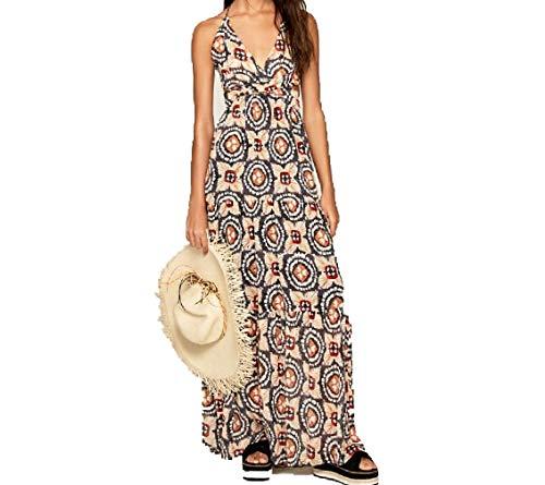 Pepe Jeans - Vestido PL952651 0AA Multi -Vestido Largo para Mujer