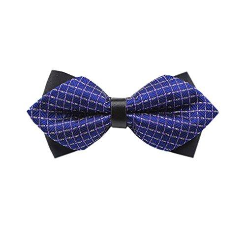 Black Temptation De Haute qualité des Hommes d'affaires Bowties de soirée de Mariage Bow Tie,15