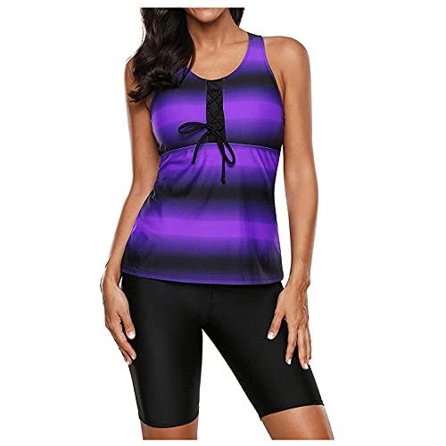 CPNG Tankini voor dames, buikcontrol top met shorts, tweedelig badpak, beachwear, badmode