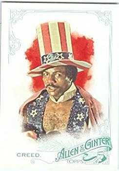 Apollo Creed trading card  Carl Weathers Rocky  2015 Topps Allen Ginters #56 Master of Disaster