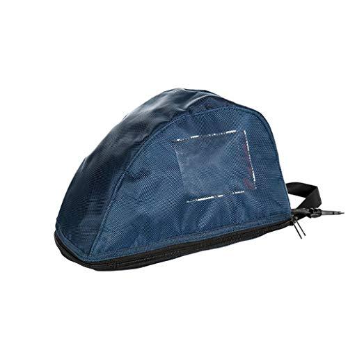 HKM Reithelme-1020969000001 Casco de equitación, Unisex Adulto, Azul Oscuro,...