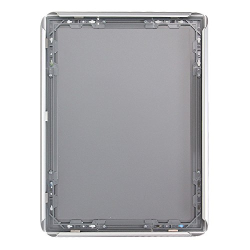 "VIZ-PRO A3 Silver Snap Frames / Clip Frames, Mitred Corner, 0.98"" Aluminum Profile Photo #3"