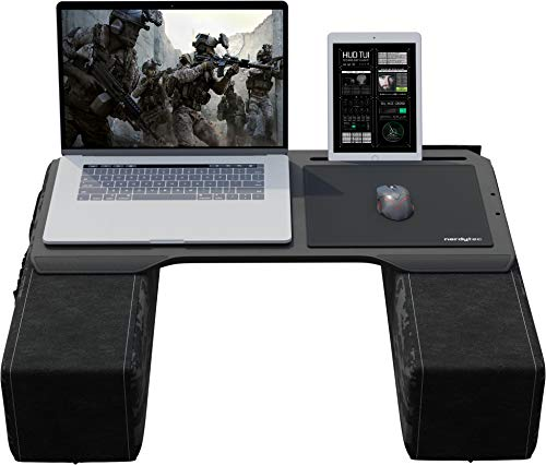 Couchmaster CYBOT - Ergonomic Lap Desk for Notebooks or Wireless Equipment, Including Pillows, Mousepad