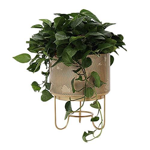 Fleurs artificielles Cadre de fleurs nordique creux simple cadre de fleurs salon balcon décoration pot de fleurs étagère en fer forgé étagère à fleurs vert stand de plantes stand de plantes Fleurs art