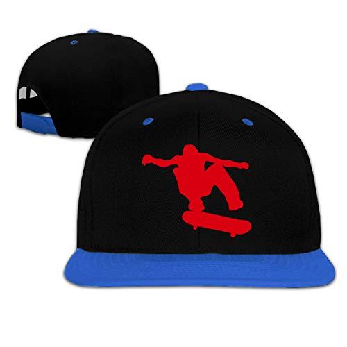 Kids Boys&Girls Skateboard Skater Baseball Cap Hats Snapback Flat Brim Cap Hats