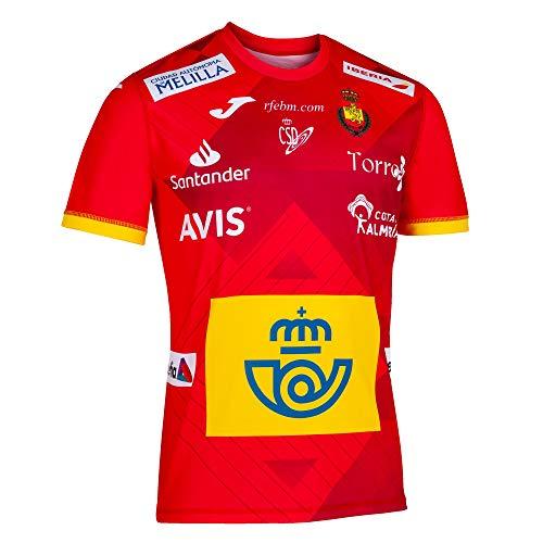 JOMA SPORT 1ª Camiseta Oficial de la Selección Española de Balonmano Roja (M)