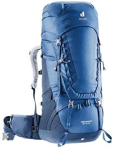 Deuter Aircontact 50+10 SL, Zaino da Trekking Women's, Steel-Midnight, 10 L