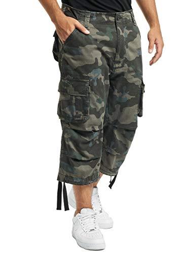 Brandit Urban Legend 3/4 Pantalones Cortos Negro