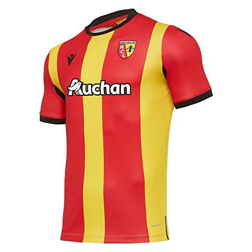 Macron Lens M20 Matchday AUTH. Home Shirt SS SR, Trikot 2020/21 für Herren, Gelb, S
