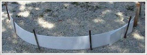 """Plastic Flex Forms for Concrete Flatwork & Curbs Set (four 12"""" x 8' pieces, 12"""" x 32' total) Walttools"""