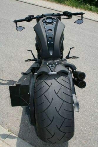 Cnc Cut Ss Center Penal Trim Harley Davidson Vrod Night Rod Fender...