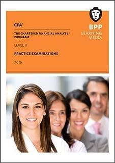 CFA Level 2: Practice Examinations by BPP Learning Media (2016-03-07)