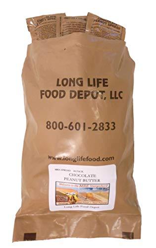 MRE Chocolate Peanut Butter Spread - 24 Pack