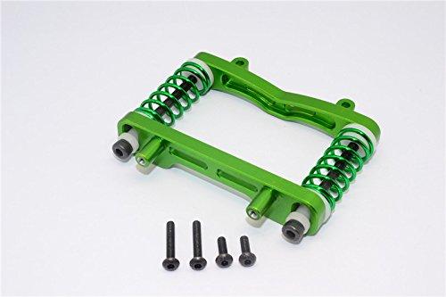 Axial Yeti XL Monster Buggy Upgrade Pièces Aluminium Front Bumper Absorber - 1 Set Green