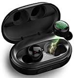 Wireless Earbuds,Dveda Bluetooth 5.0 C5 True Wireless Earbuds Stereo Sound IPX8 Waterproof Bluetooth Earbuds,120H Playtime with 3500mAh Charging Case,Built-in Mic CVC 8.0 Noise-Cancelling Headset