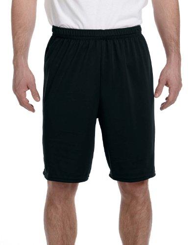 Augusta Sportswear Men's L 1420, Black, Large