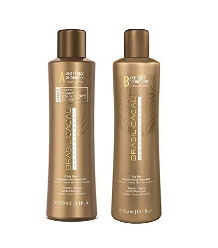 Generic Professional Brasil Cacau Anti Frizz Shampoo + conditioner 300 ml
