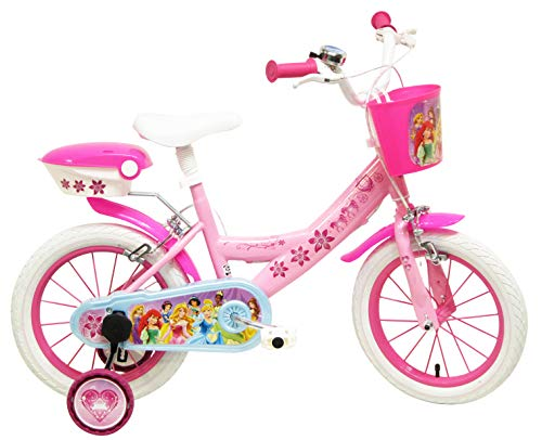 Disney 13130 Princess-Bicicleta 14'', Multicolore,
