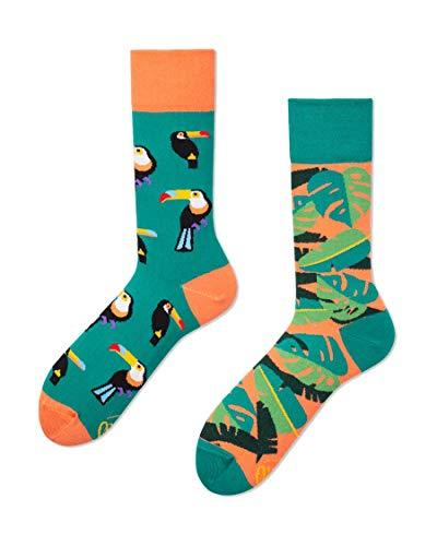 Many Mornings unisex Socken – Tropical Heat - Tukan (39-42)