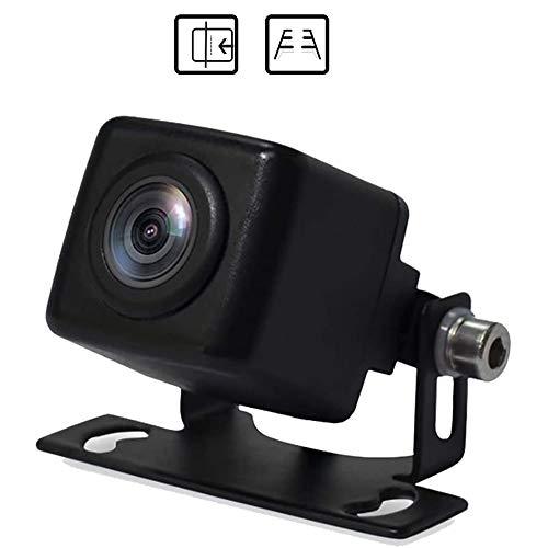 PARKVISION Rückfahrkamera IP68 wasserdicht Frontkamera Auto mit Zwei Funktionen und Super-Nachtsicht für die meisten Autos & Mini LKW Autokamera[MP-126S]
