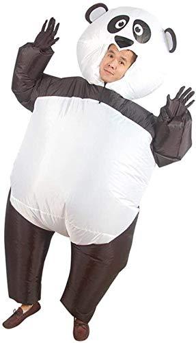 TBBE Aufblasbares Kostüm Weihnachten Party Aufblasbares Sumo Kostüm Panda Kleidung Cartoon Tier Puppe Fasching Kostüm Anzug Outfit