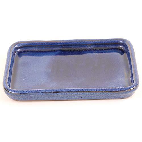 Bonsai 53330 Dessous de Verre carré Bleu 16 x 12 cm