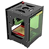 1500mw Laser Engraving Machine, NEJE Laser Engraver Printer 550x550 Pixel DIY USB Mini Engraving Machine DIY USB CNC Router Cutting Carver Off-line Operation for Art Craft Science