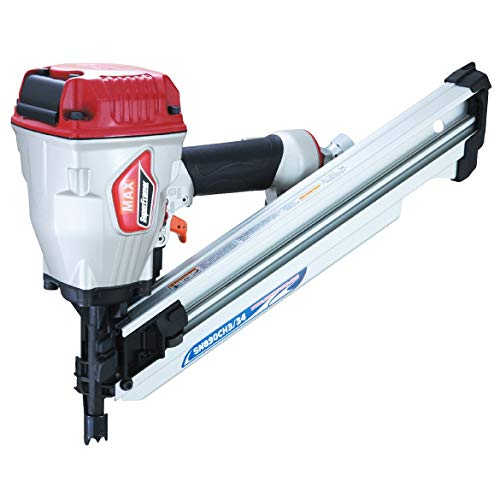 """MAX USA CORP SuperFramer SN890CH3/34 34 Degree Framing Offset/Clipped Head Stick Nailer up to 3-1/2"""""""